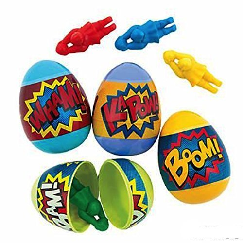 FX Superhero Filled Plastic Easter -