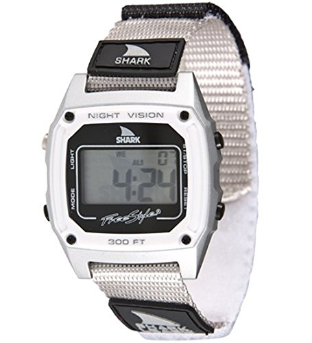 Freestyle Unisex 102241 Shark Fast Strap Retro 80's Digital Grey Watch