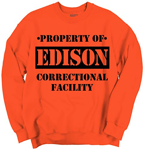 Brisco Brands Property Of Edison, NJ Prision The New Black Novelty Cool - Park Edison Nj