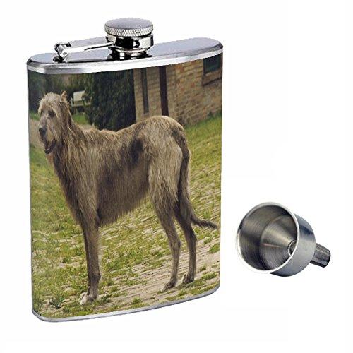 専門店では 犬Irish Wolfhound Perfection inスタイル8オンスステンレススチールWhiskey Flask with with Free B01668PCYI Funnel Flask B01668PCYI, 照明器具インテリア照明の正電社:bf67c28d --- domaska.lt