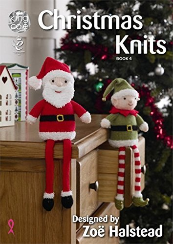 King Cole Knitting Pattern Book Christmas Knits 4 DK by King Cole by King Cole