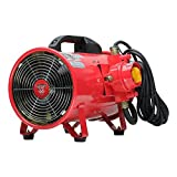 "F5 Portable 8"" Explosion Proof Ventilation Fan"