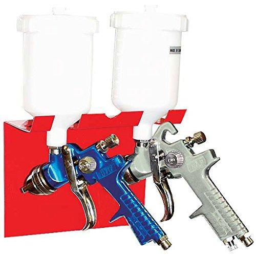 [해외]AES Industries 166 듀얼 마그네틱 스프레이 건 홀더 (2 개의 스프레이 건 보유)/AES Industries 166 Dual Magnetic Spray Gun Holder (Holds 2 Spray Guns)