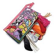Jellycat Soft Cloth Fabric Books, Pony Tails