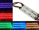 Rextin 200pcs 12V 7512 5050 SMD 3 LED Module RGB Waterproof Light Lamp 3 years warranty for home garden xmas wedding party decoration or letter design