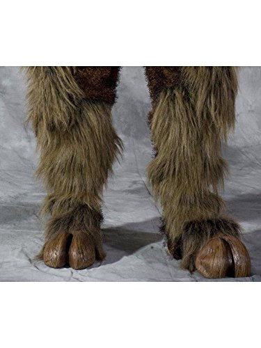Brown Beast Hooves For Adults - The Beast Costume For Sale