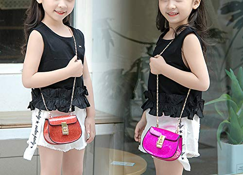 Small Purse Hasp Candy Cover Crossbody Bag Rose Saddle Satchel Donalworld Glitter 47dqRqw