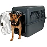 Petmate Pet Porter 2 Kennel, For Pets 50-70 Pounds,  Dark Gray