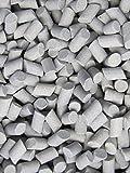 3 Lb. 3/8'' X 5/8'' Abrasive Ceramic Tumbling Tumbler Tumble Media M-GENERAL PURPOSE