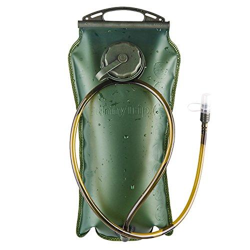 BONL Trinkblase 3 Liter, Hochwertige Wasserreservoir, weit zu öffnende, moll-Geschmack, für Wandern, Radtour, Klettern, wasser rucksack, Aktivitäten im Freien,Langlebig, einfachste zu reinigen