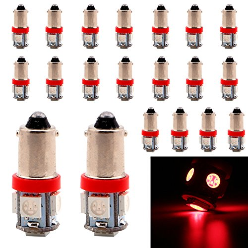 4-Pack T10 194 168 921 450Lums White Extremely Bright Canbus Error Free LED Light 12V,6500k,9-SMD 2835 Chipsets Car Replacement Bulb For W5W 168 2825 Map Dome Courtesy License Plate Side Marker Light