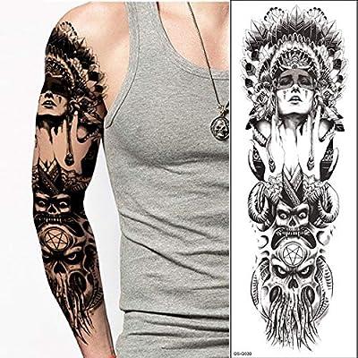 4 Unidades, Diseños De Tatuajes Con Mangas De Calaveras Para ...