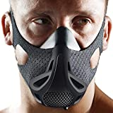Opard Workout Mask 4 Level Altitude Simulating Mens Oxygen Control Training for Breathing Running, Jogging (Under 120 LBS Small)