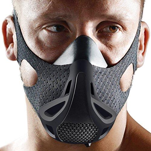[prime Week Deal] Opard Elevation Training Mask 4 Level Altitude Oxygen Simulating Mens Workout Mask
