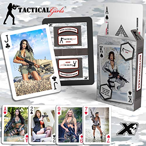Tactical Girls 2020 Calendar Playing Cards