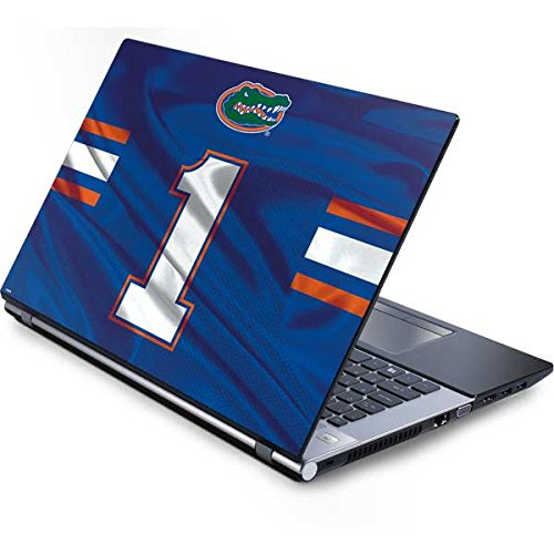 Florida Gators Laptop - Skinit University of Florida Generic 15in Laptop (13.7in X 9.5in) Skin - Florida Gators Jersey Design - Ultra Thin, Lightweight Vinyl Decal Protection