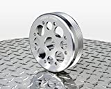 Agency Power (AP-SCTC2-130S) Lightweight Crank Pulley, Silver