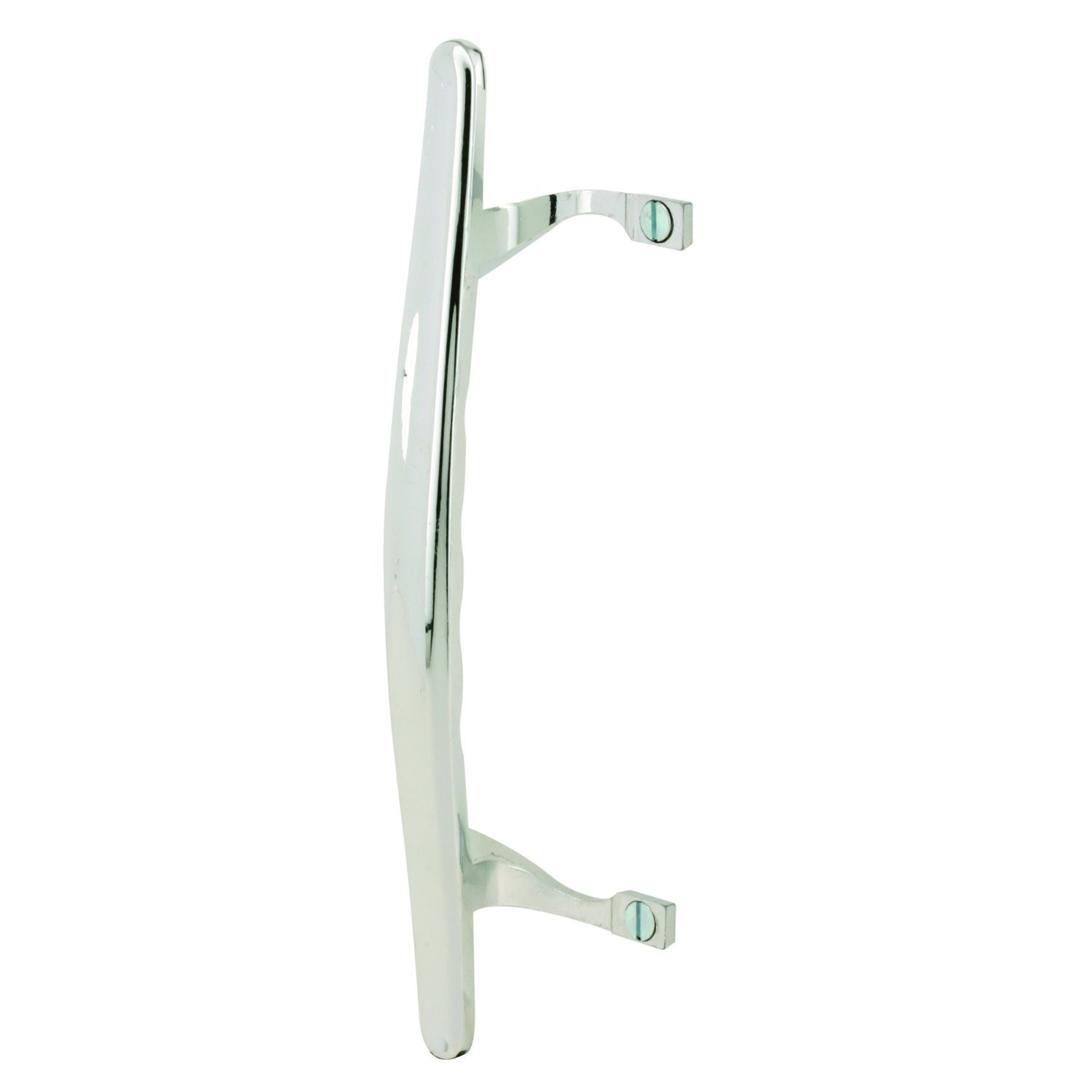 Prime-Line MP1067 Sliding Glass Door Pull Handle Chrome Pack of 1 Prime-Line Products Diecast Construction