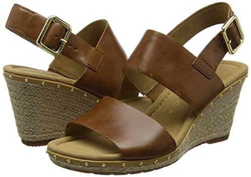 Sport Marrón para Gabor Mujer Sandalia Peanut Pulsera Nieten Shoes con Comfort Rgwxwq6TaB