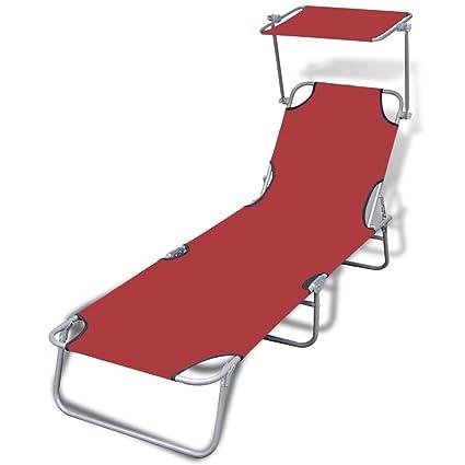 Admirable Amazon Com Tidyard Outdoor Foldable Chaise Lounge Chair Uwap Interior Chair Design Uwaporg