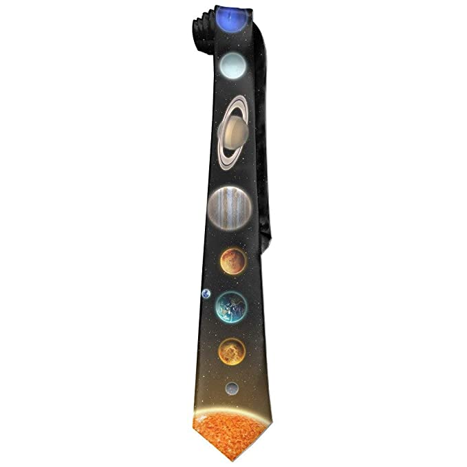 Sistema Solar Corbata Corbatas Delgadas: Amazon.es: Ropa y accesorios