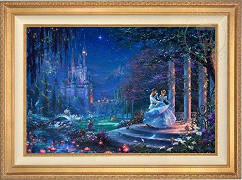 Disney Cinderella Dancing in the Starlight - Thomas Kinkade 24