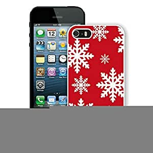 New Fashion Design Hard Protect Skin Case Cover Shell for Mobile Cell Phone Apple Iphone 5/ 5S-Merry Christmas,Christmas Snowflake iPhone 5 5S Case 15 White