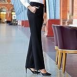 Brook Taverner Womens/Ladies Formal Work/Suit Trousers (6 US) (Black)