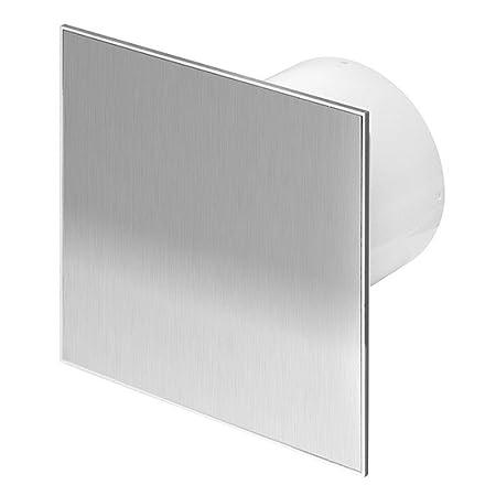 100mm Bathroom Extractor Fan With Modern Stainless Steel Front Panel Ventilator Exhaust Fans Ventilators Home Improvement