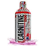 ProSupps L-Carnitine 1500 Liquid Fat Burner, Stimulant Free Metabolic Enhancer, 31 Servings (Berry Flavor)