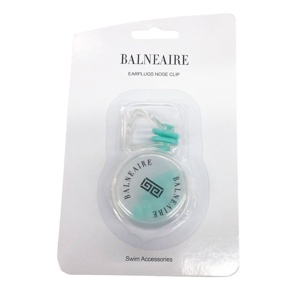 BALNEAIRE Swimming Earplugs and Nose Clips Set for Adults and Kids Comfortable for Swimming Pink Xingcheng Balneaire Trading Co Ltd.