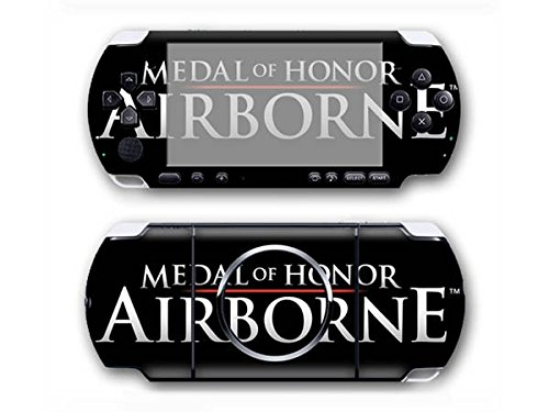 Medal of Honor airborne psp vita 3000 skin decal for console