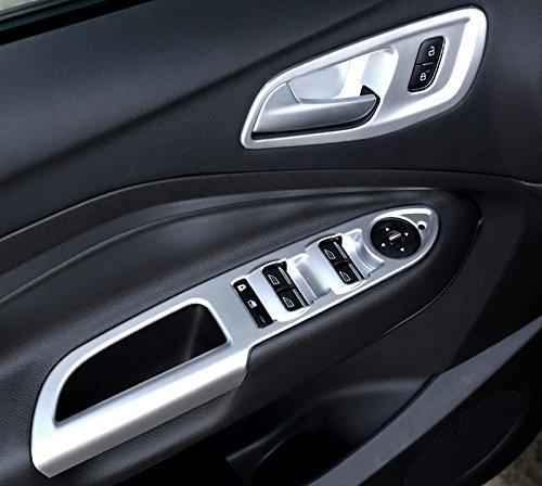 f/ür Kuga 2013-2018 Interieur T/ürgriff Dekor ABS Kunststoff Matt 4 St/ück