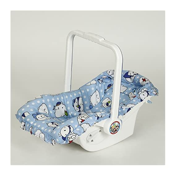 NHR Multipurpose Blue Baby Carry cot with Sun Shade (Blue)