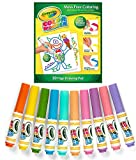 CrayolaSet Color Wonder Drawing Paper-30 Sheets, with 10 Mini Markers, Mess Free - Color Wonder Set (Pastel)