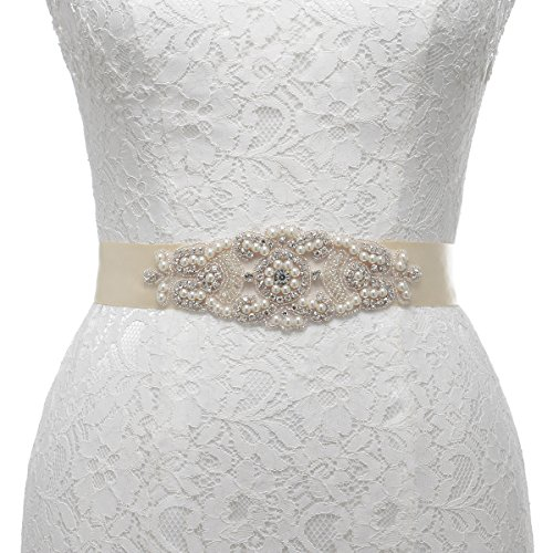 remedios-pearl-and-rhinestone-accented-satin-sash-for-women-flower-gifts-nice-giftschampagne