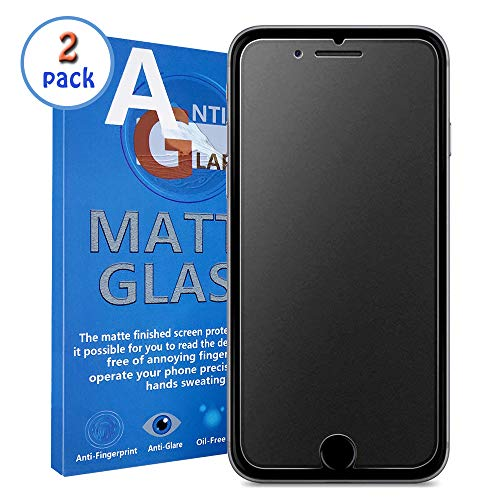 Robintec Compatible with iPhone 7 Plus/8 Plus Matte Screen Protector, Anti-Glare & Fine Matte Finished iPhone 7/8 Plus Tempered Glass Screen Protector Film [Professional Matte Finished]