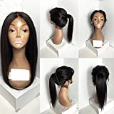 613 27 4 lace front wig - Natural looking synthetic hair lace front wig free part baby hair #1b#2#6#27#613Stock (18in, 2#)