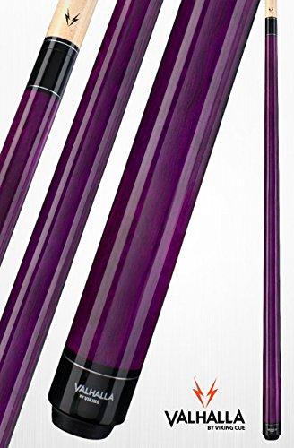 Viking Valhalla 2 Piece Pool Cue Stick VA107 (20oz, Purple) (Woman Pool Cue)