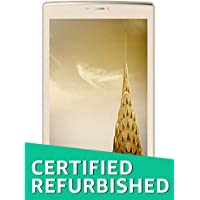 (CERTIFIED REFURBISHED) Micromax Canvas Tab P702 Tablet (WiFi, 4G, Voice Calling), Champagne