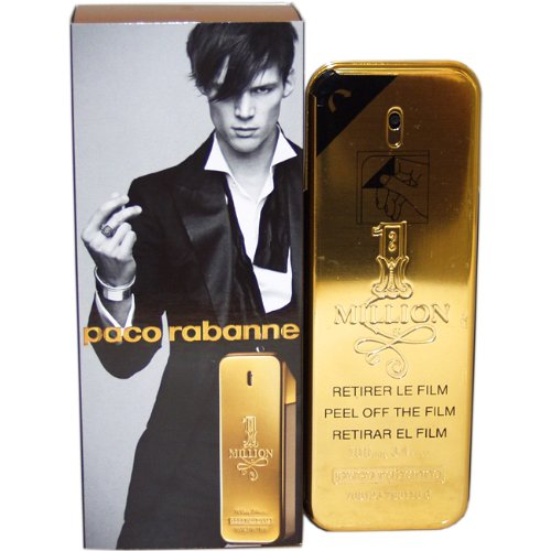 Paco Rabanne 1 million par Paco Rabanne pour les hommes EDT Spray 3.4 Oz