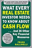What Every Real Estate Investor Needs To Know About Cash Flow … 36 Other Key Financial Measures