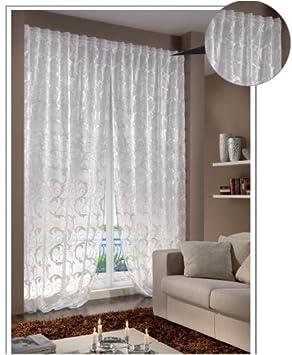 Via Roma 60 Bangkok Curtain white: Amazon.co.uk: Kitchen & Home
