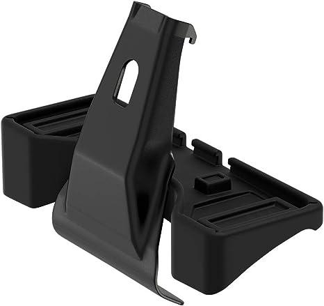 Noir Taille Unique THULE 145010 Kit de Barre de Toit de Voiture