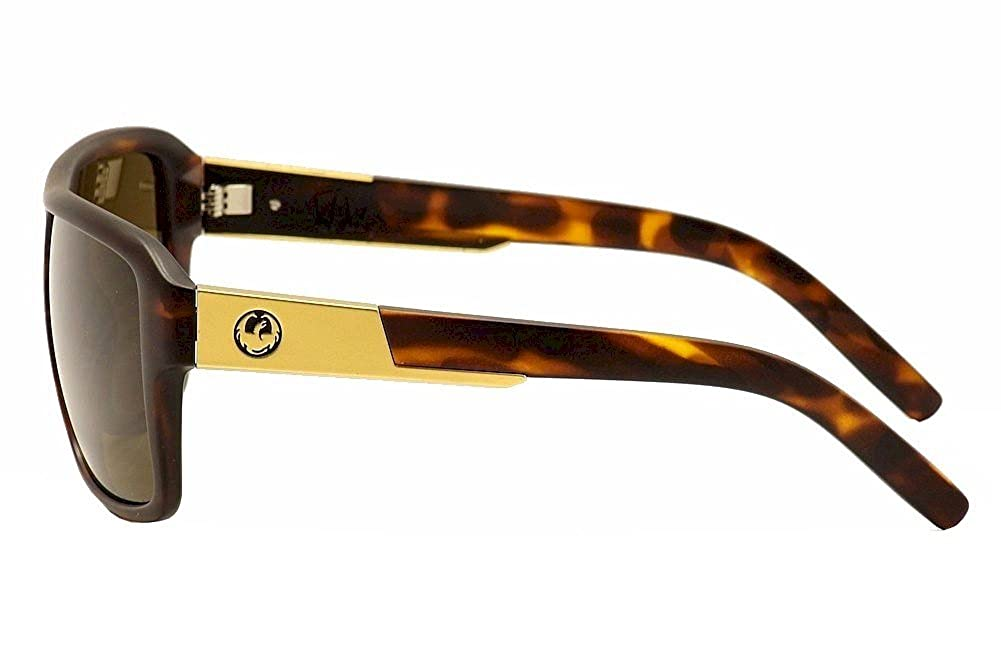Large Dragon The Jam Owen Wright Frame Sunglasses with Green Ionized Lens