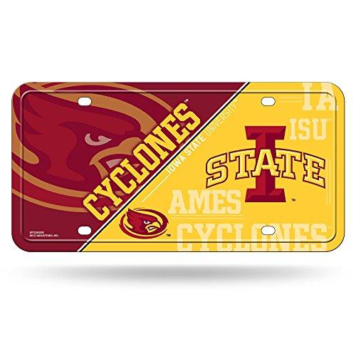 NCAA Iowa State Cyclones Metal License Plate Tag