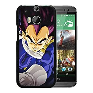Fashion Designed Dragon Ball 17 Black HTC ONE M8 Phone Case