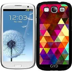 Funda para Samsung Galaxy S3 (GT-I9300) - Triángulos Retro 02 by Aloke Design