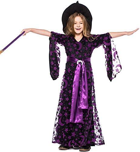 QAR Disfraz De Halloween Niños Lindos Bruja Bruja Juegos De rol ...