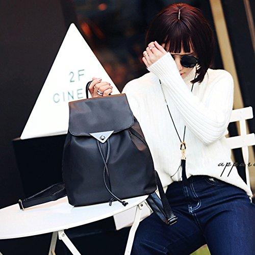 Backpack Fashion Drawstring Widewing Flip Leather New Women Bag School Spring Pu P0FnxOBwpq